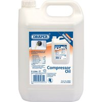 Draper Air Compressor Oil 5l