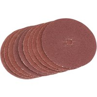 Draper Aluminium Oxide Sanding Discs 125mm 125mm Assorted Pack of 5