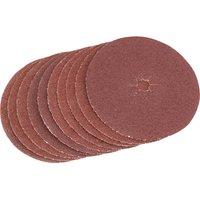 Draper Aluminium Oxide Sanding Discs 125mm 125mm 40g Pack of 5