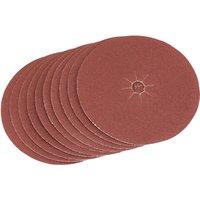 Draper Aluminium Oxide Sanding Discs 125mm 125mm 80g Pack of 5