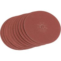 Draper Aluminium Oxide Sanding Discs 125mm 125mm 120g Pack of 5