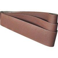 Draper Abrasive Sanding Belt 100 x 915mm 100mm x 915mm 60g Pack of 3