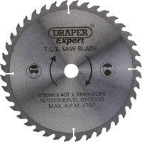 Draper Expert Circular Saw Blade 305mm 40T 30mm