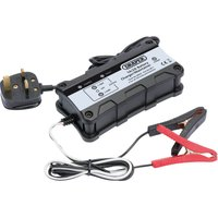 Draper MC1 Compact Car Battery Charger & Maintainer 12v