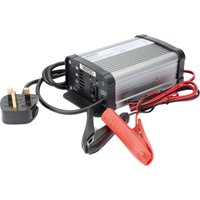 Draper IBC1 Intelligent Car and Motorcycle Battery Charger 6v or 12v