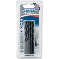 Draper Expert HSS Drill Bit 6 5mm Pack of 10