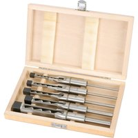 Draper 5 Piece Hollow Square Mortice Chisel and Bit Set