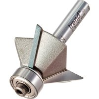 Trend Bearing Guided Triple Flute Chamfer Router Bit 34mm 11mm 1 4