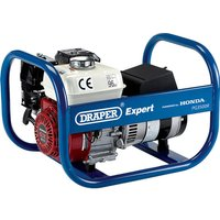 Draper Expert PG3500R Petrol Generator Honda Engine 3.5Kva