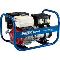 Draper Expert PG7500R Petrol Generator Honda Engine 7.5Kva