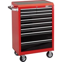 Draper Expert 10 Drawer Tool Roller Cabinet Black / Red