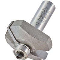 Trend Bearing Guided Bevel Chamfer Router Cutter 41mm 13mm 1 2