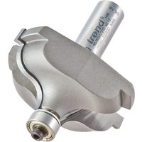 Trend Quirk Topped Ogee Bearing Guided Router Cutter 57mm 25 5mm 1 2