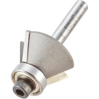 Trend Bearing Guided Bevel Trimmer Router Cutter 29mm 13mm 1 4