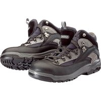 Draper Mens Safety Hiker Boots Black / Blue Size 4