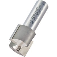 Trend Professional Two Flute Straight Router Cutter 23mm 19mm 1 2