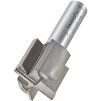 Trend Professional Two Flute Straight Router Cutter 30mm 25mm 1 2