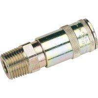 Draper Vertex Air Coupling Tapered Male Thread 1/2