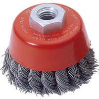 Draper Expert Twist Knot Wire Cup Brush 60mm M14 Thread
