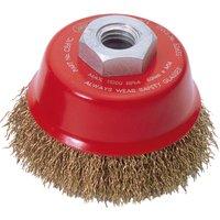 Draper Expert Brassed Steel Wire Cup Brush 60mm M14 Thread