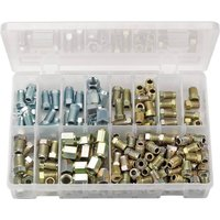 Draper Expert 205 Piece Brake Pipe Fitting Kit Male & Female
