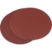Draper Self Adhesive Aluminium Oxide Abrasive Disc 200mm Assorted Pack of 5