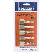 Draper PCL Air Line Coupling Screw Adaptor Female Thread 1/4