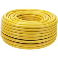 "Draper Heavy Duty Garden Hose Pipe 1/2"" / 12.5mm 50m Yellow"