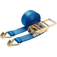Draper Ratchet Tie Down Strap 75mm 10m 5 Tonne
