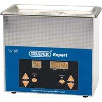 Draper Expert Ultrasonic Parts Cleaning Tank 3l