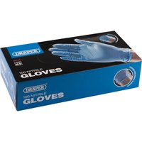 Draper Nitrile Gloves M Pack of 100