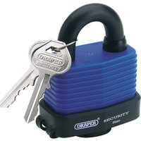 Draper Laminated Steel Padlock 54mm Standard