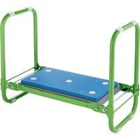 Draper Expert Folding Metal Framed Garden Kneeler and Seat