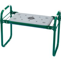 Draper Expert Folding Metal Framed Garden Kneeler and Seat