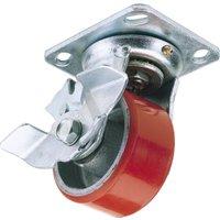 Draper Swivel Plate Fixing Heavy Duty Wheeled Caster & Brake 200mm