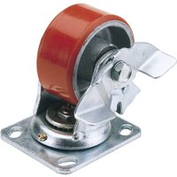 Draper Swivel Plate Fixing Heavy Duty Wheeled Caster & Brake 160mm