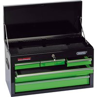 Draper 6 Drawer Tool Chest Black / Green
