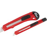 Draper 2 Piece Retractable Snap Off Blade Utility Knife Set