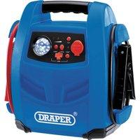 Draper JS800 Emergency Jump Starter  Powerbank and Air Compressor 12v