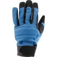 Draper Work Gloves Black / Blue L