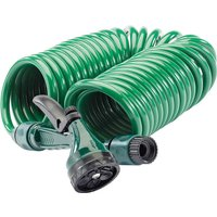 "Draper Recoil Garden Hose Pipe & Spray Gun 1/2"" / 12.5mm 10m"