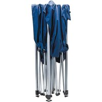 Draper Folding Gala Gazebo Blue 3m x 3m