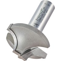 Trend Ovolo Rounding Over Router Cutter 38mm 18mm 1 2