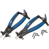 Draper Expert Ratcheting Internal & External Circlip Pliers Set