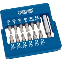 Draper 13 Piece Magnetic Bit Screwdriver Set