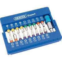 Draper 19 Piece Coloured Screwdriver Bit Set