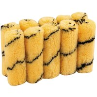 Draper Tiger Stripe Paint Roller Sleeves 100mm Pack of 10