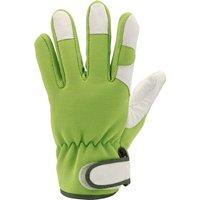 Draper Expert Heavy Duty Garden Gloves Grey / Green M