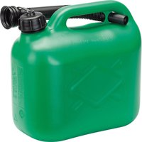 Draper Plastic Fuel Can 5l Green
