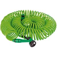 "Draper Recoil Hose & Spray Gun Set 3/8"" / 9.5mm 30m Green"